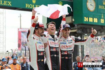 Toyota WEC Lemans Winner