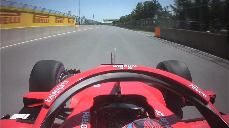 Wide open road for Kimi