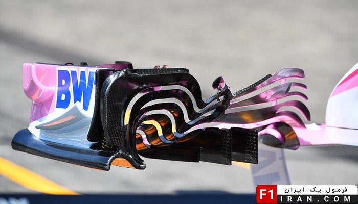 ماشین VJM11 تیم فورس ایندیا