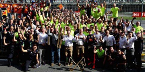 تیم ردبول - گرندپری اتریش 2018