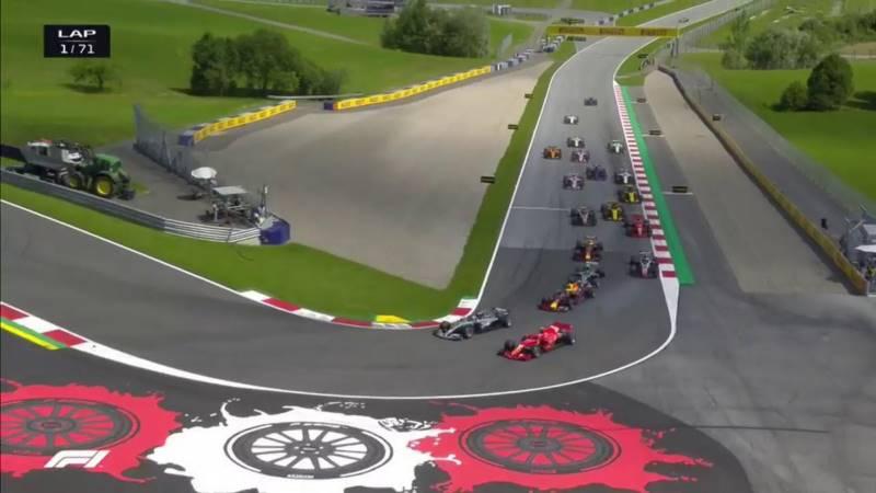مسابقه فرمول یک اتریش 2018