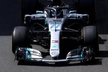 والتری بوتاس - مسابقه فرمول یک بریتانیا 2018
