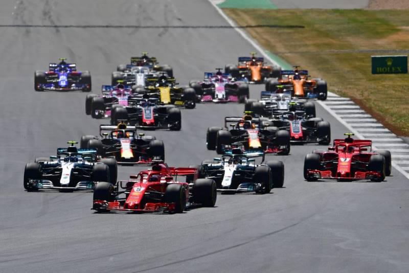 مسابقه فرمول یک بریتانیا 2018