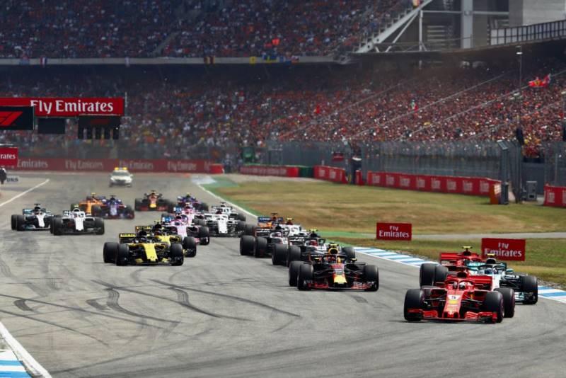 مسابقه فرمول یک آلمان 2018
