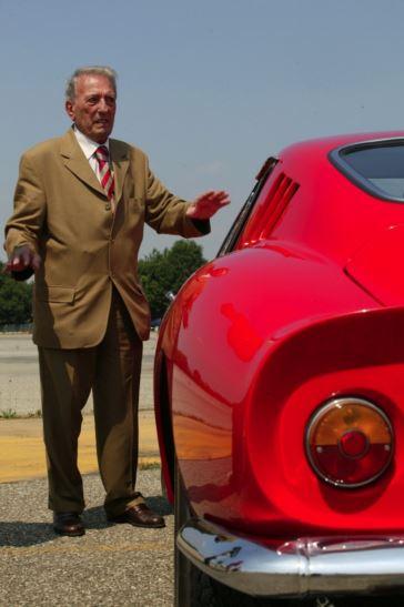 Sergio Sacglietti and 250 GTOm, فراری 250 جی تی او