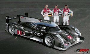رانندگان خودروی آئودی در مسابقه لمان سال 2011