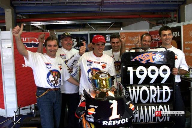 الکس کریویل، قهرمان جهان در دستهی 500سیسی