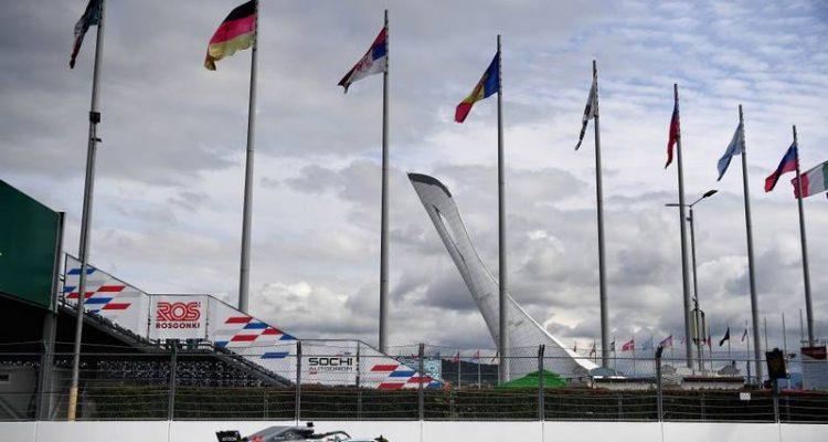 لوئیس همیلتون - تمرین دوم گرندپری روسیه 2018