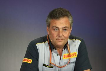 ماریو ایزولا مدیر بخش فرمول یک پیرلی