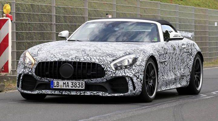 خودرو رودستر Mercedes-AMG GT R