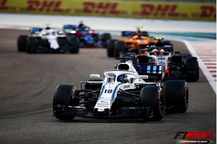 لنس استرول - مسابقه فرمول یک ابوظبی 2018