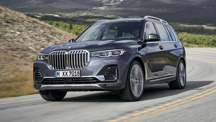 BMW X7 جدید؛ ظهور یک غول باواریایی