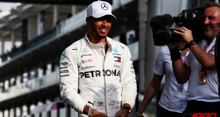 لوییس همیلتون - مسابقه فرمول یک ابوظبی 2018