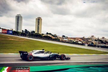 لوییس همیلتون - مسابقه گرندپری برزیل 2018