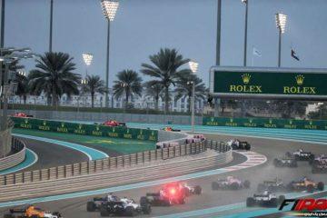 استارت - مسابقه فرمول یک ابوظبی 2018