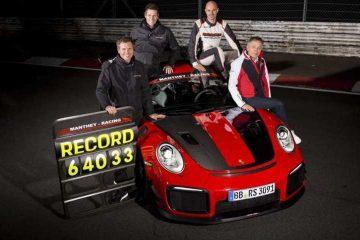 پورشه 911 GT2RS MR