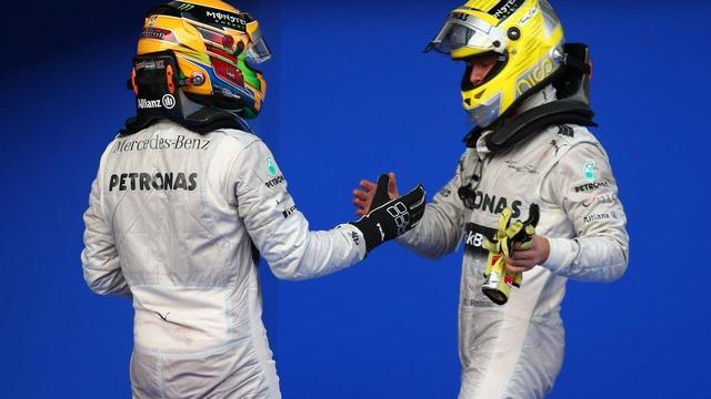 Lewis Hamilton and Nico Rosberg Malaysian Grand Prix