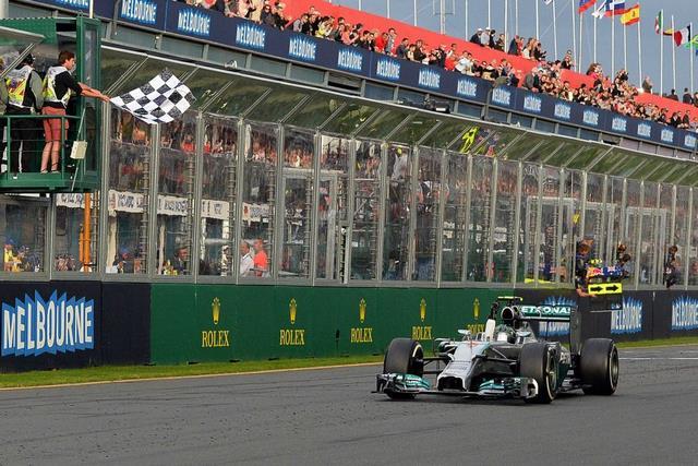 Rosberg wins Australian Grand Prix