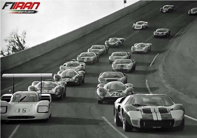 استارت مسابقه دایتونا سال 1967