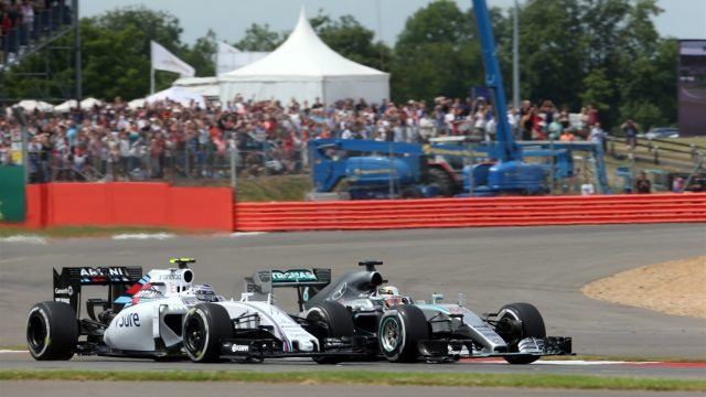 Lewis Hamilton won the 2015 Formula 1 British Grand Prix