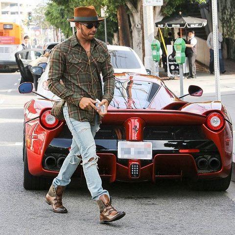 Lewis Hamilton's laferrari