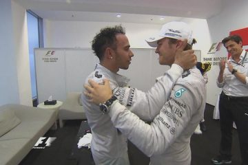 Lewis and Nico Abu dhabi 2014
