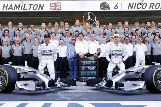 Mercedes Amg F1 Abudhabi