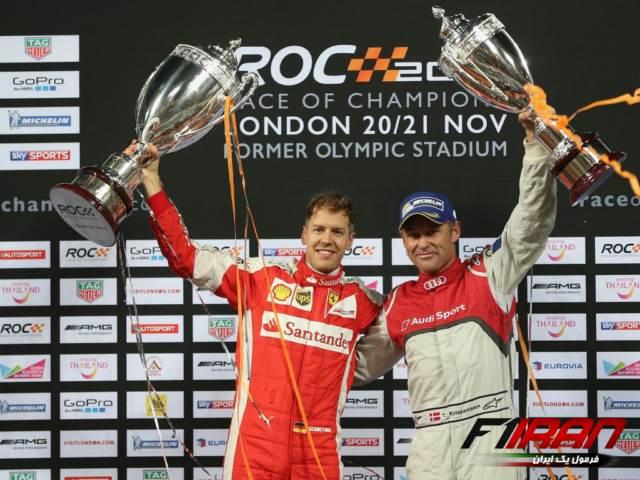 تام کریستنسن و سباستین فتل - مسابقه قهرمانان 2019