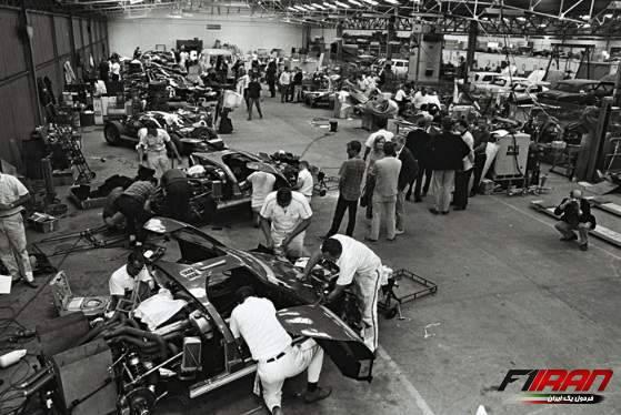 آماده سازی فورد برای مسابقه لمان سال 1966