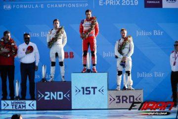 سکو مسابقه فرمولE مراکش 2019