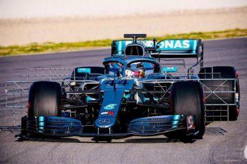 Mercedes AMG F1 W10 Barcelona