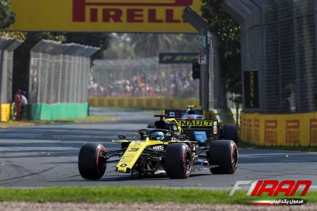 دنیل ریکاردو - استرالیا 2019