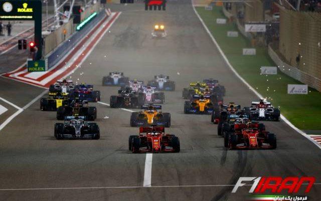 استارت مسابقه بحرین 2019
