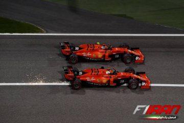 سباستین فتل و چارلز لکلرک - بحرین 2019