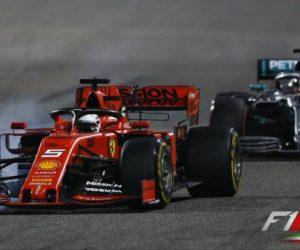 سباستین فتل و لوئیس همیلتون - بحرین 2019