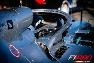 جزئیات Halo خودروی W10 تیم مرسدس