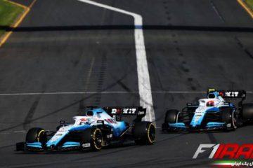 رانندگان ویلیامز - استرالیا 2019