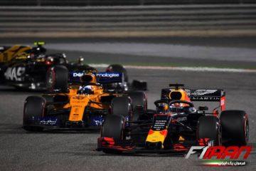 مکس ورشتپن و کارلوس ساینز - بحرین 2019