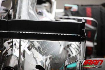 بال عقب خودروی مرسدس W10 - آذربایجان 2019