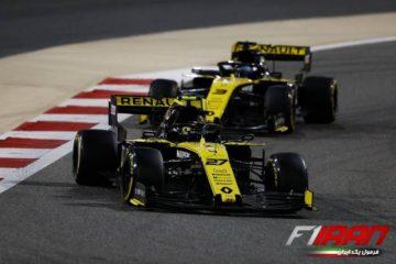 نیکو هالکنبرگ و دنیل ریکاردو - بحرین 2019