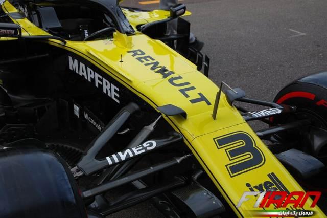 خودروی RS19 تیم رنو