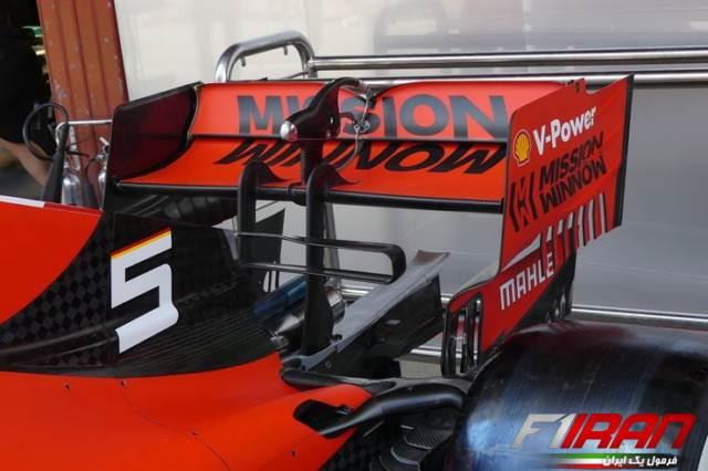 جزئیات بال عقب جدید خودروی SF90 فراری