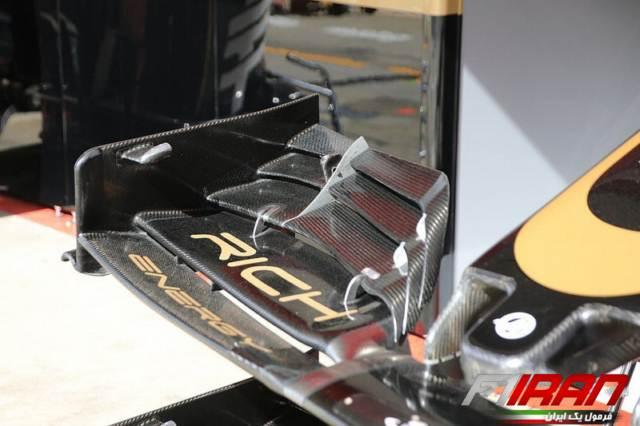 جزئیات بال جلوی جدید خودروی VF19 هاس