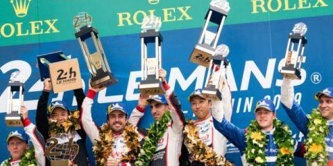 کاپ پیروزی در دستان آلونسو و دیگر رانندگان شماره 8 تویوتا