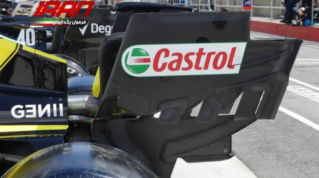صفحه انتهایی جدید خودروی RS19 تیم رنو
