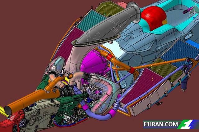 مدل طراحی شده در نرم افزار CAD