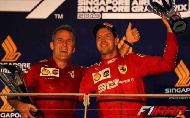 سباستین فتل و ایناکی رئودا -سنگاپور 2019