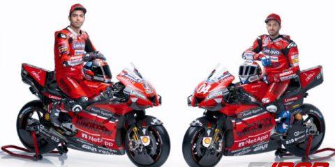 آندره دویزیوسو و دنیلو پتروچی - موتور GP20s دوکاتی موتوجی پی 2020