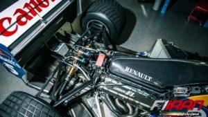 قسمت انتهایی خودروی FW14B