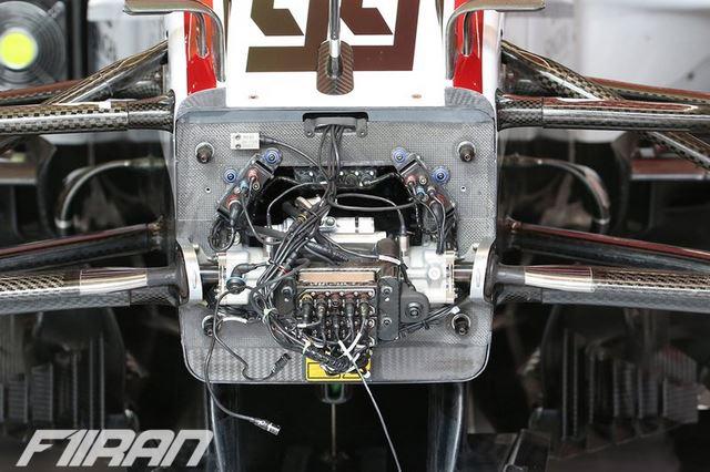 جزئیات قسمت جلویی خودروی هاس VF-20